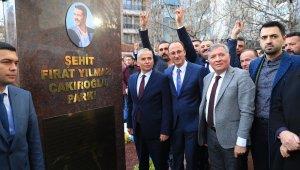 Fırat Çakıroğlu'nun ismi Pamukkale'de parkta yaşatılacak