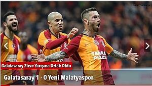 Galatasaray  1 - 0 Yeni Malatyaspor