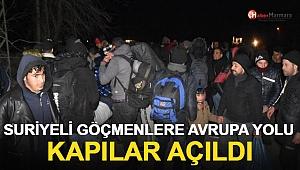 Göçmenlere Avrupa Kapıları Açıldı! Sınıra Yürüyorlar