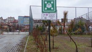 Hisarcık'ta acil toplanma ve geçici barınma alanları belirlendi