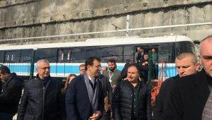 İBB Başkanı İmamoğlu, Mecidiyeköy-Mahmutbey metrosunun hizmete gireceği tarihi açıkladı