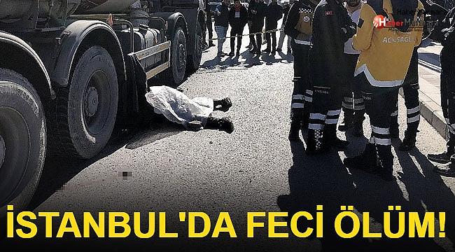 İstanbul'da Feci Ölüm!