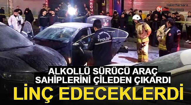 İstanbul'da Kaza Yapan Gence Linç Girişimi