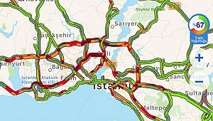 İstanbul'da Şiddetli Yağmur! İşte Trafikte Son Durum...