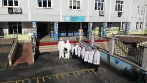 İstanbul'da okullarda virüslere karşı nano savaş