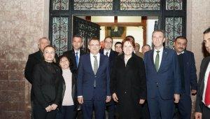 İYİ Parti Genel Başkanı Akşener, Gömeç ve Ayvalık'ta