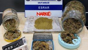 İzmir'de uyuşturucu tacirlerine operasyonda 2 kişi tutuklandı