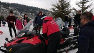 JAK Timleri, 34 kayakçının imdadına yetişti
