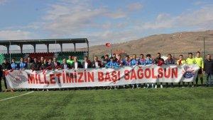 Kayseri'de amatör maçta hain saldırı kınandı