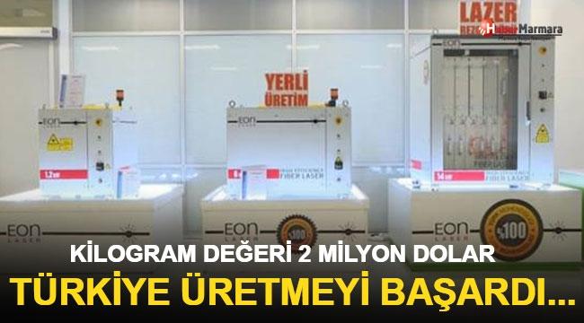 Kilogram Değeri 2 Milyon Dolar... Türkiye Üretmeyi Başardı