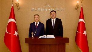 Kırgızistan'ın Ankara Büyükelçisi Omuraliev, Vali Su ile buluştu
