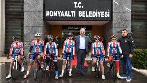"""Konyaaltı Bisiklet Takımından """"Milli Takım""""a"""