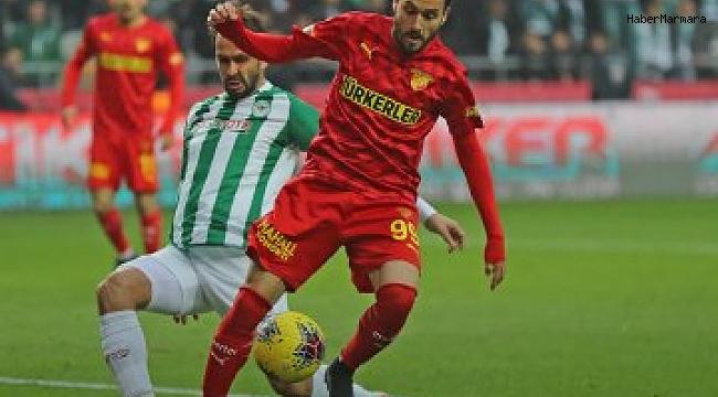 Konyaspor  1 - 3  Göztepe
