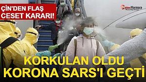 Korkulan Oldu! Korona SARS'ı Geçti! Çin'den Flaş Ceset Kararı