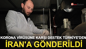 Korona Virüsüne Karşı Destek Türkiye'den İran'a Gönderildi