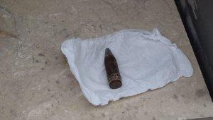 Malatya'da 30 yıl öncesine ait uçaksavar mermisi bulundu