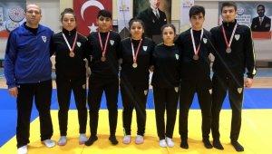 Manisa BBSK'lı judoculardan 6 madalya