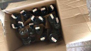 Manisa'da kaçak içki operasyonu: 1'i astsubay 12 gözaltı
