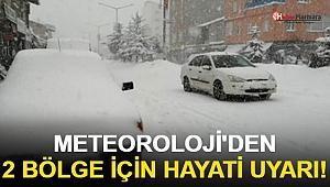 Meteoroloji'den 2 Bölge İçin Hayati Uyarı!