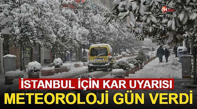 Meteorolojiden İstanbul ve Çok Sayıda İl İçin Son Dakika Kar Yağışı Uyarısı!