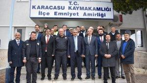 MHP Aydın İl Başkanı Alıcık'tan Karacasu ziyareti
