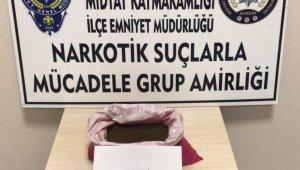 Midyat'ta 1 kilo 270 gram bonzai ele geçirildi