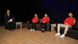 Milli karateciler deneyimlerini anlattı