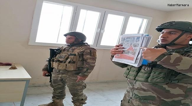"""MSB: """"Barış Pınarı Bölgesindeki çocuklara mayınEYP'den korunma eğitimi verildi"""""""