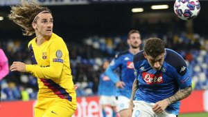 Napoli ve Barcelona yenişemedi