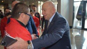 Nihat Özdemir, Down Sendromlular Milli Takımı ile bir araya geldi