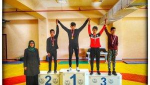 Okul Sporları Gençler B Güreş müsabakaları sona erdi