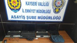 Okuldan bilgisayar çalan hırsızlar tutuklandı
