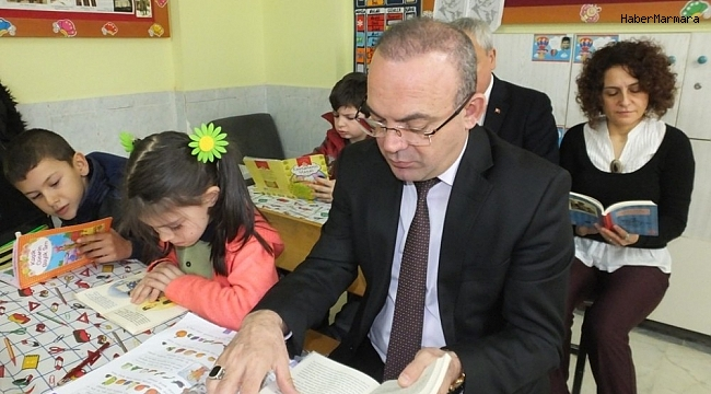 Okullarda 3 yıldır okuma etkinlikleri düzenleniyor