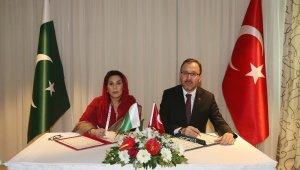 Pakistan ve Özbekistan ile işbirliği protokolü imzalandı
