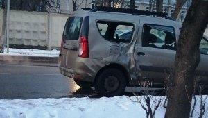 Rusya'da at ile otomobil çarpıştı