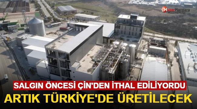 Salgın Öncesi Çin'den İthal Ediliyordu! Artık Türkiye'de Üretilecek