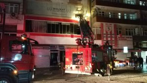 Samsun'da lokanta yangını korkuttu