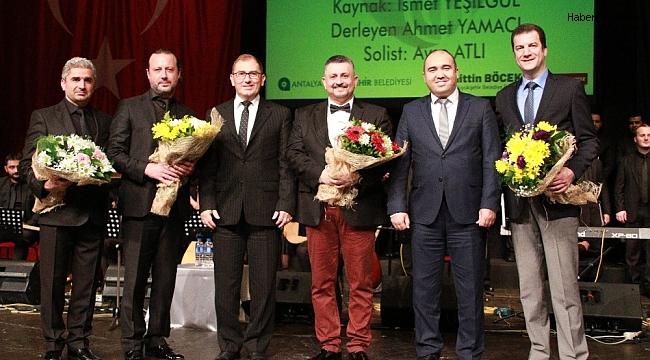 Sevgililer Günü'nde 'Sevda Türküleri' konseri büyüledi