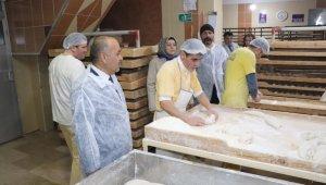 Sivas'ta ekmek fırınları denetlendi