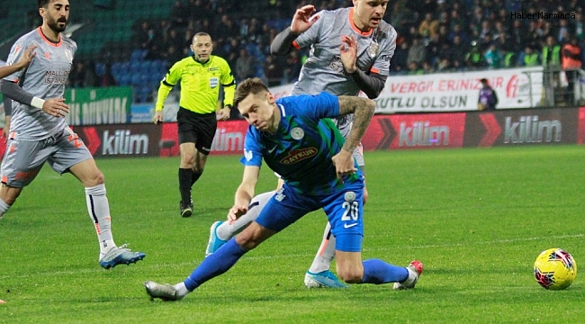 Çaykur Rizespor  1 - 2  Medipol Başakşehir