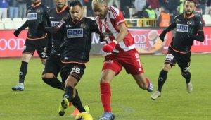 Süper Lig: D.G. Sivasspor: 1 - A. Alanyaspor: 0