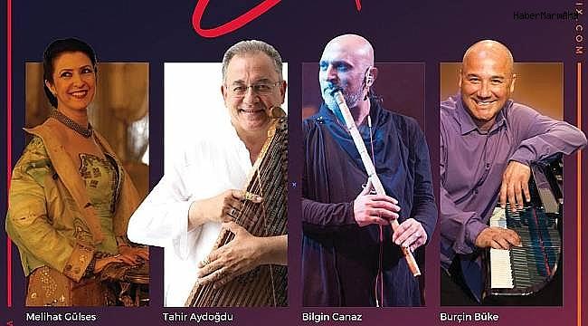 Tanini Trio ve Melihat Gülses Bostanlı Suat Taşer Tiyatrosu'nda