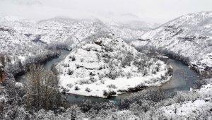 Tunceli'de yoğun kar yağışı: 39 köy yolu kapandı