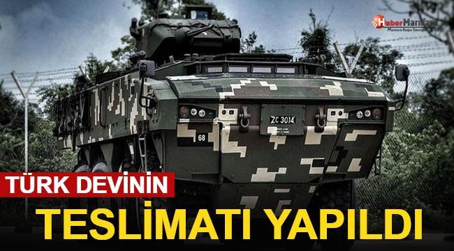 Türk Devinin Teslimatı Yapıldı