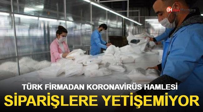 Türk Firmadan Koronavirüs Hamlesi Siparişleri Yetiştiremiyorlar