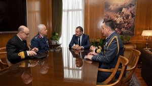 Türk ve Yunan Milli Savunma Bakanlığı görüşmeleri tamamlandı