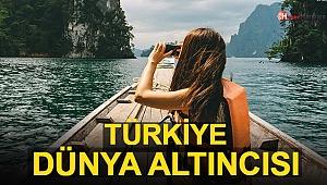 Türkiye Dünya Altıncısı