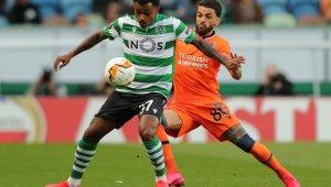 UEFA Avrupa Ligi: Sporting Lizbon: 2 - Medipol Başakşehir: 0