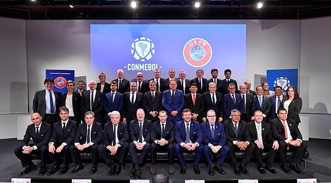 UEFA ile CONMEBOL arasında iş birliği