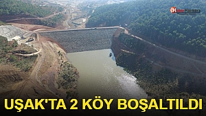 Uşak'ta 2 Köy Boşaltıldı